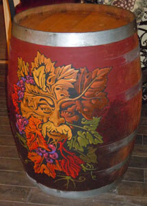 Painted Barrels on the Verde Valley Wine Trail