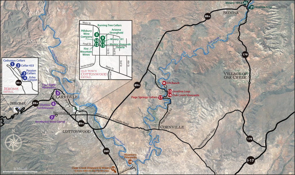 The Trail Map Verde Valley Wine Trail