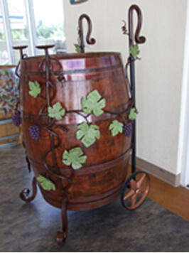 Verde Valley Medical Center Painted Barrel