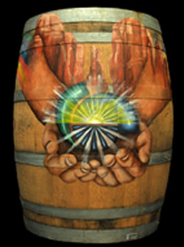 Verde Valley Medical Center-Sedona Campus Painted Barrel